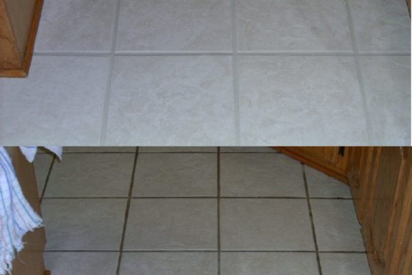 Tile and Grout Cleaning: Spot Removal